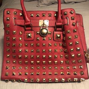 Diamond Rim studded purse